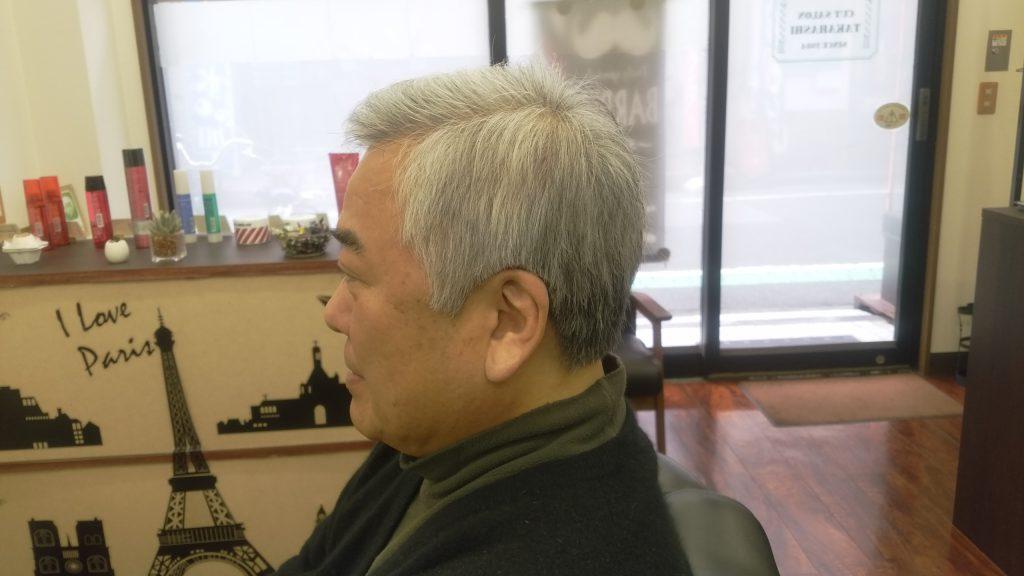 綾瀬駅 理容室 シニアカット
