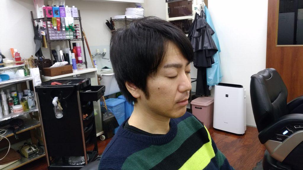 綾瀬駅メンズサロンのメンズショートスタイル