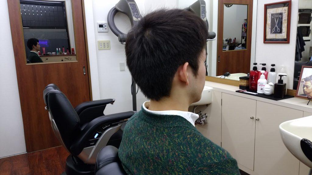 綾瀬メンズサロンビジネスショートスタイル