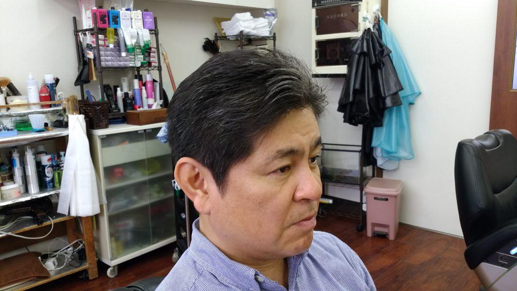 綾瀬駅理容室メンズ・ナチュラルパートスタイル!