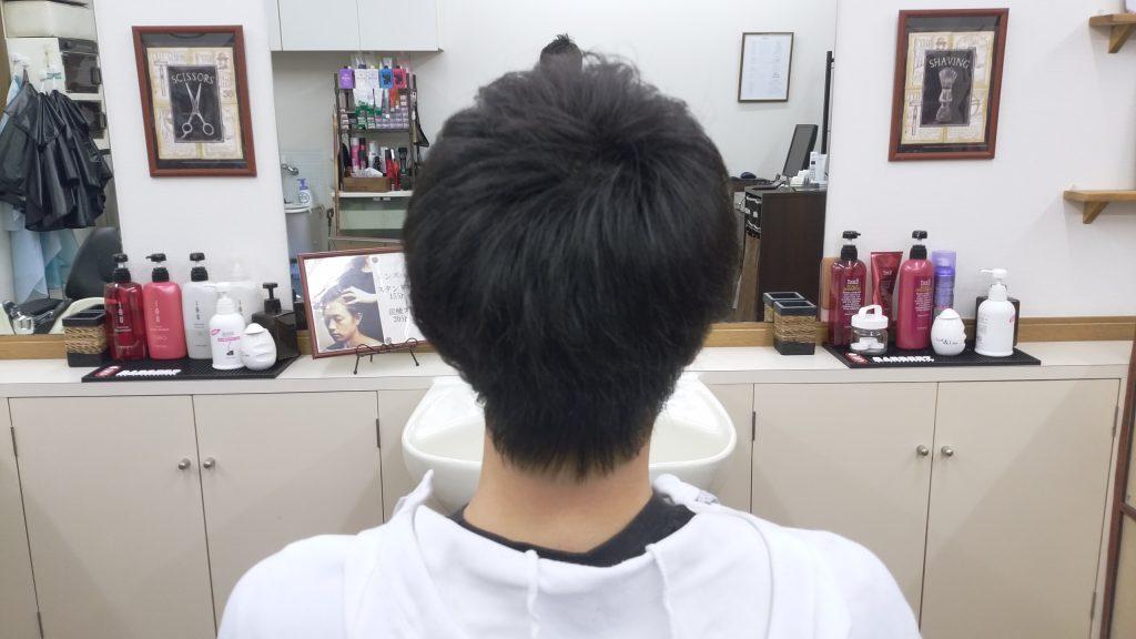 綾瀬駅メンズサロン・ショートボブスタイル