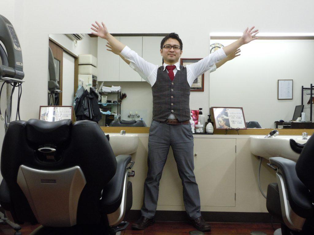 綾瀬メンズサロン2代目代表