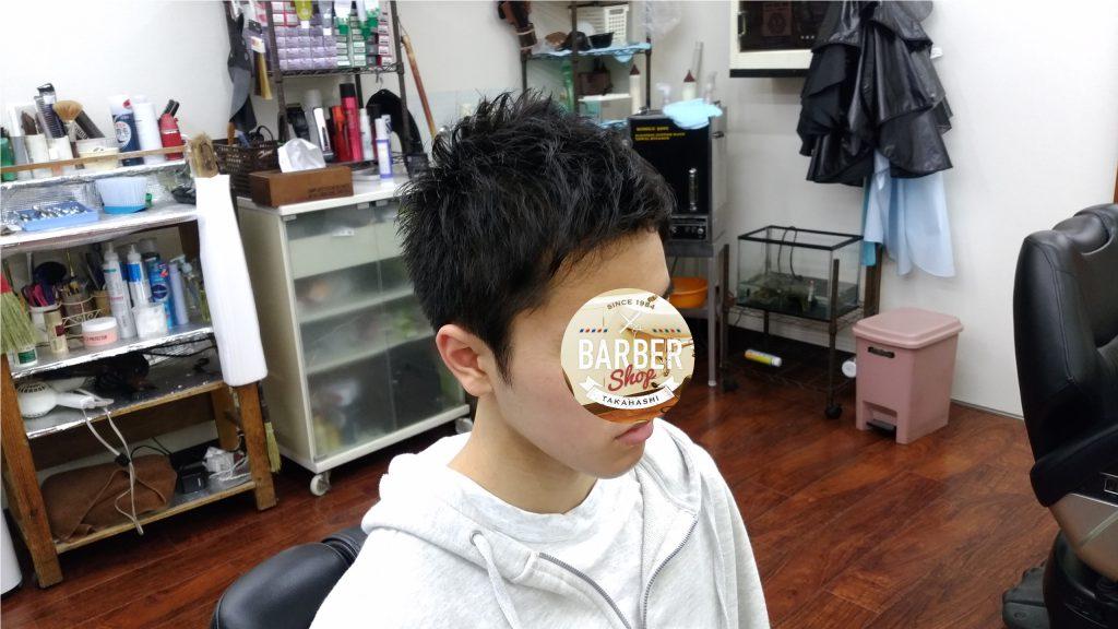 綾瀬駅メンズサロン・メンズ中学生スタイル!