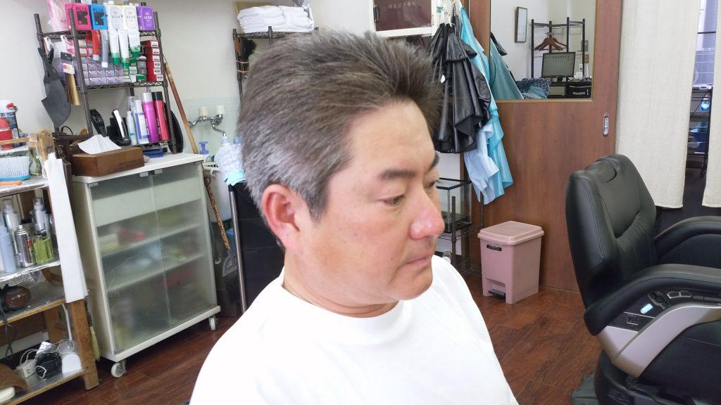 綾瀬駅理容室メンズカット・リバーススタイル!