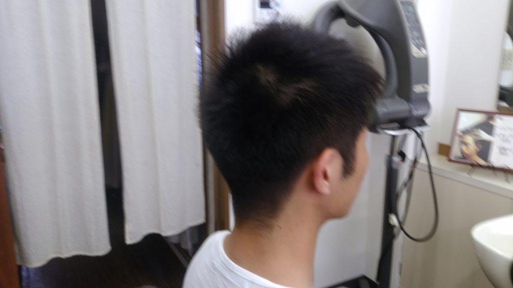 綾瀬駅理容室・メンズカット刈り上げスタイル