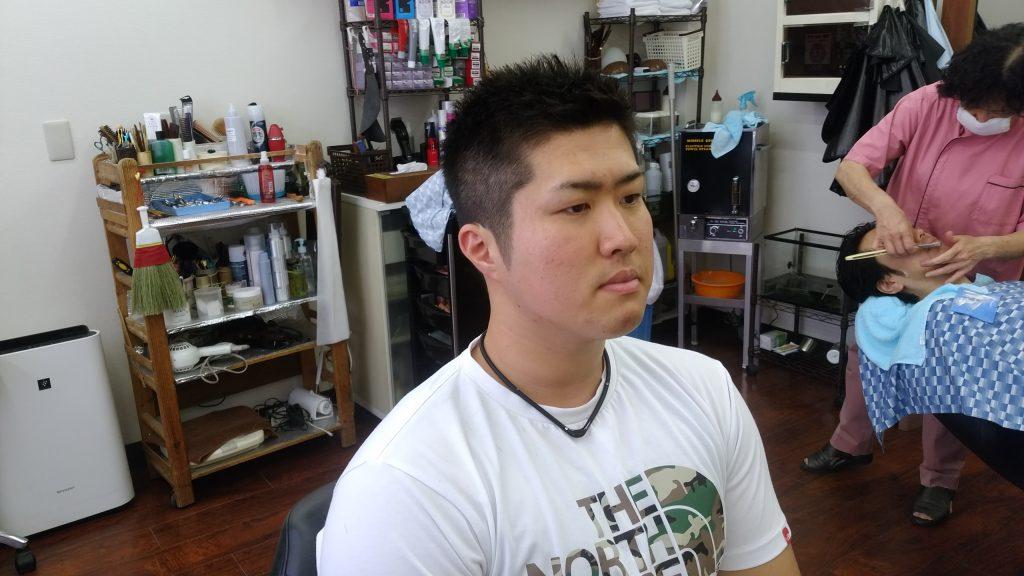 綾瀬駅メンズサロン・ソフトモヒカンスタイル!