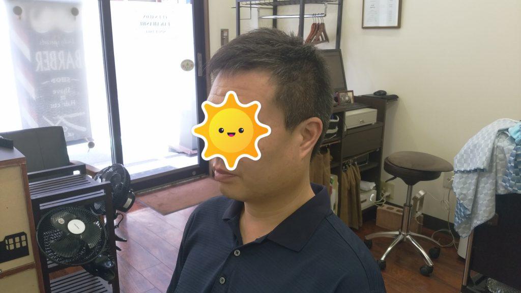 綾瀬駅理容室・メンズビジネスショートスタイル!