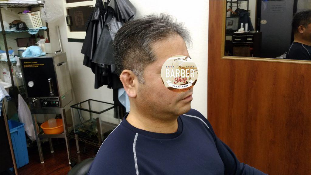 綾瀬駅理容室メンズカット刈り上げスタイル!