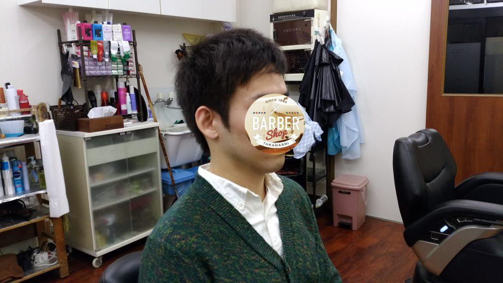綾瀬駅メンズサロンビジネスショートスタイル!