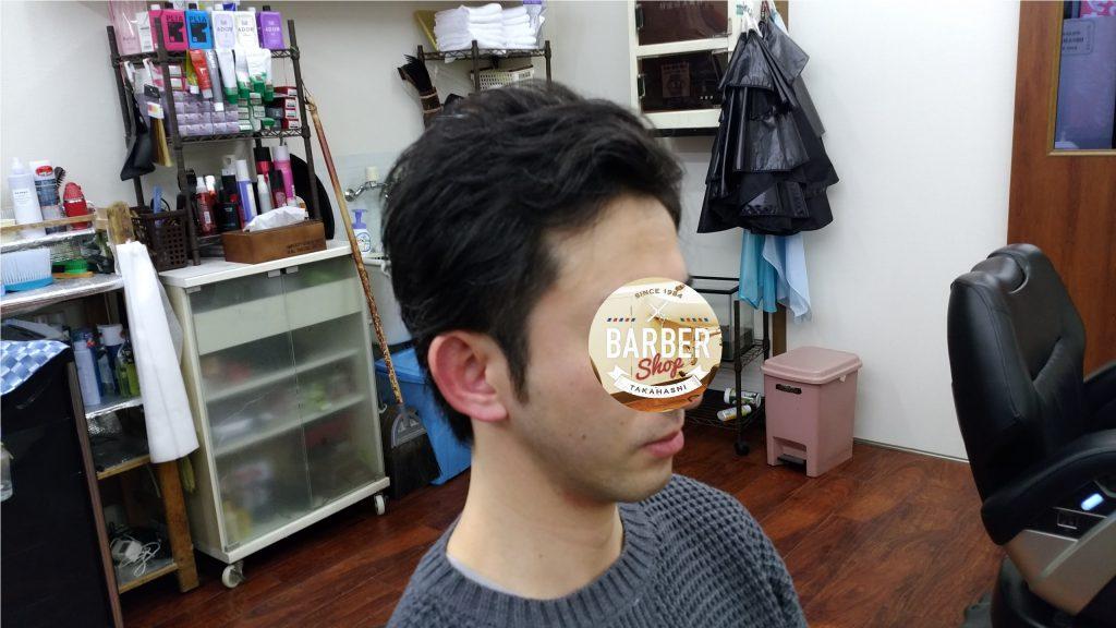 綾瀬駅メズンサロン・2ブロック&アップバングスタイル!