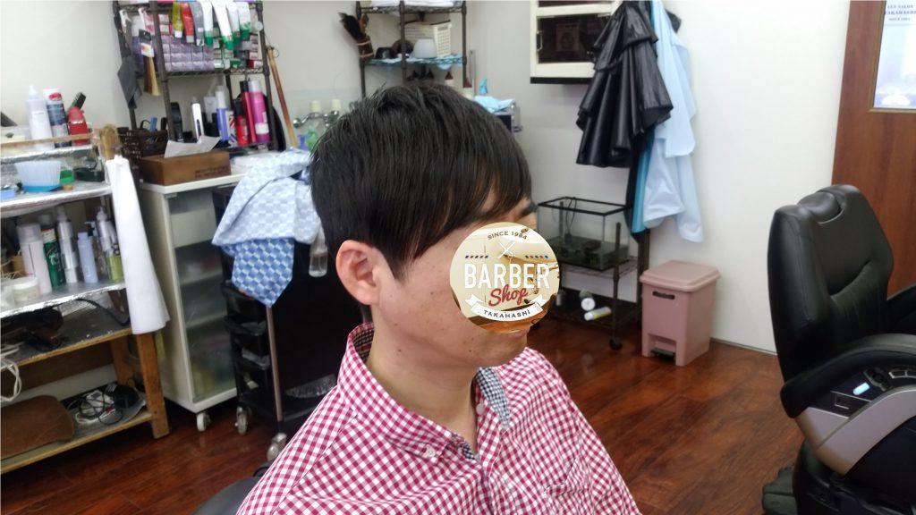 綾瀬駅理容室メンズカット・ビジネスアシンメトリースタイル!
