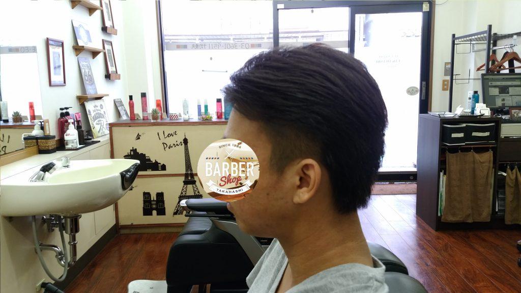 綾瀬駅メンズサロン メンズ2ブロックスタイル!