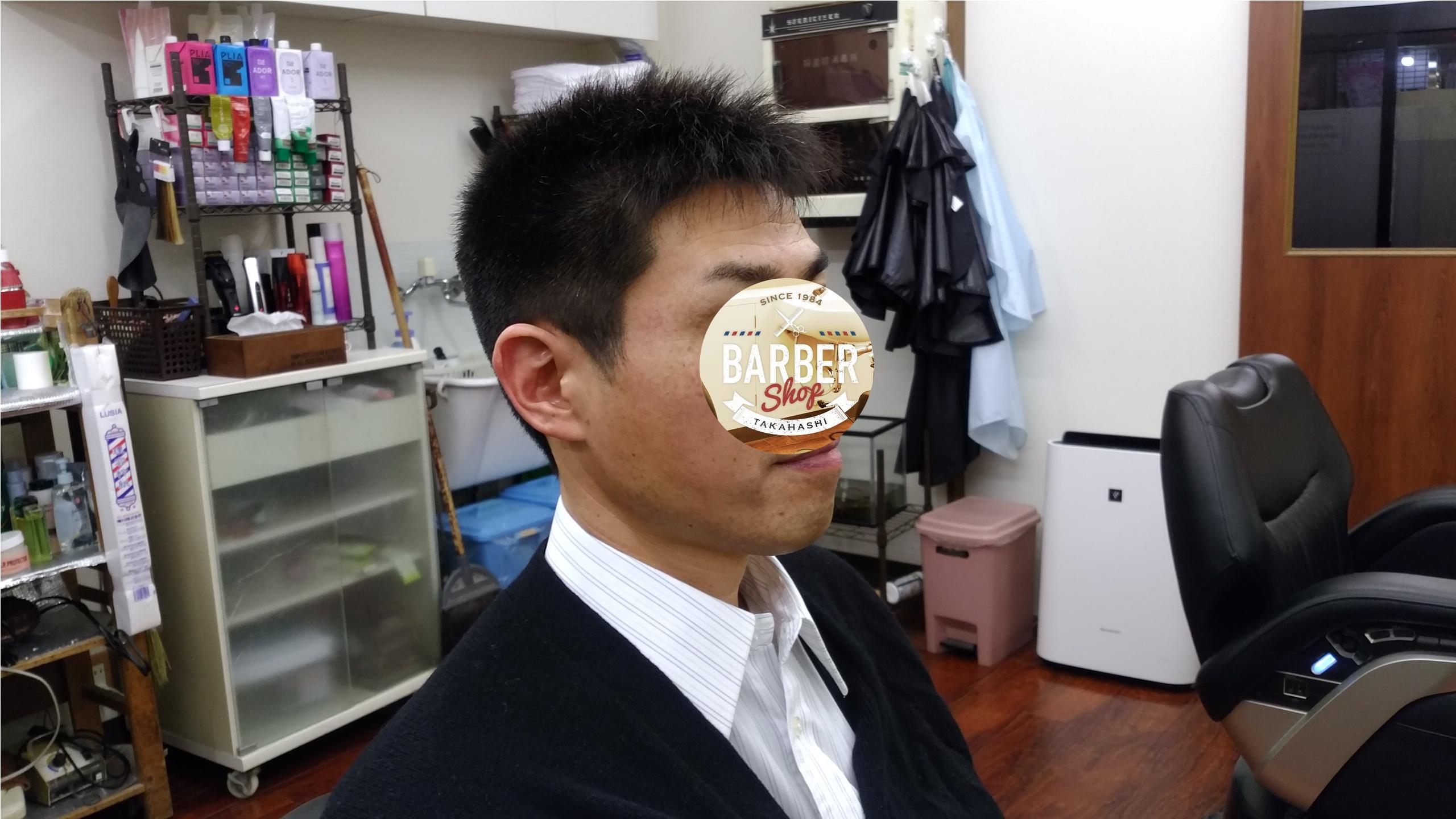 綾瀬駅メンズサロン・メンズ刈り上げスタイル!