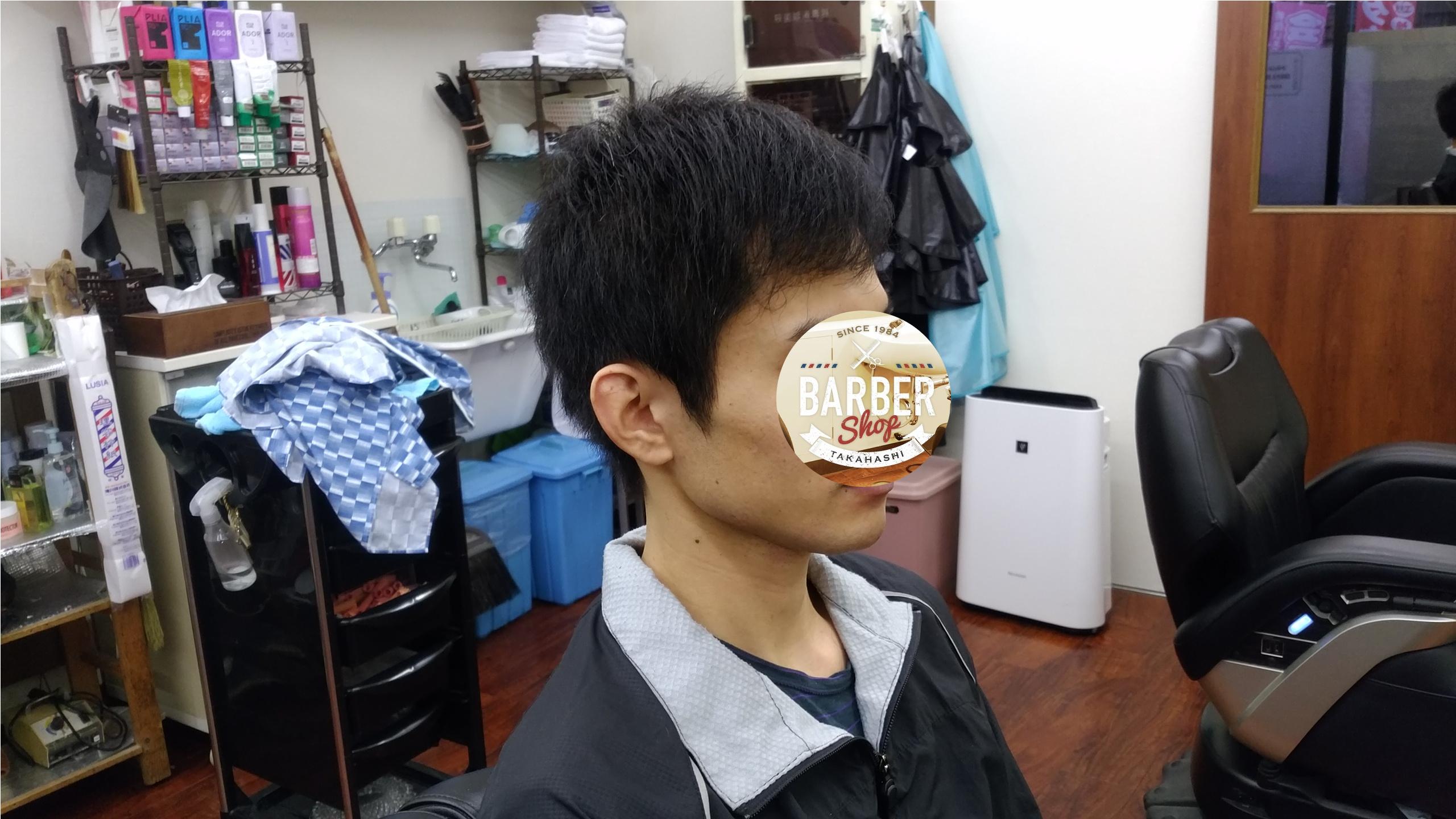 綾瀬駅理容室・メンズカット ビジネスショートスタイル!