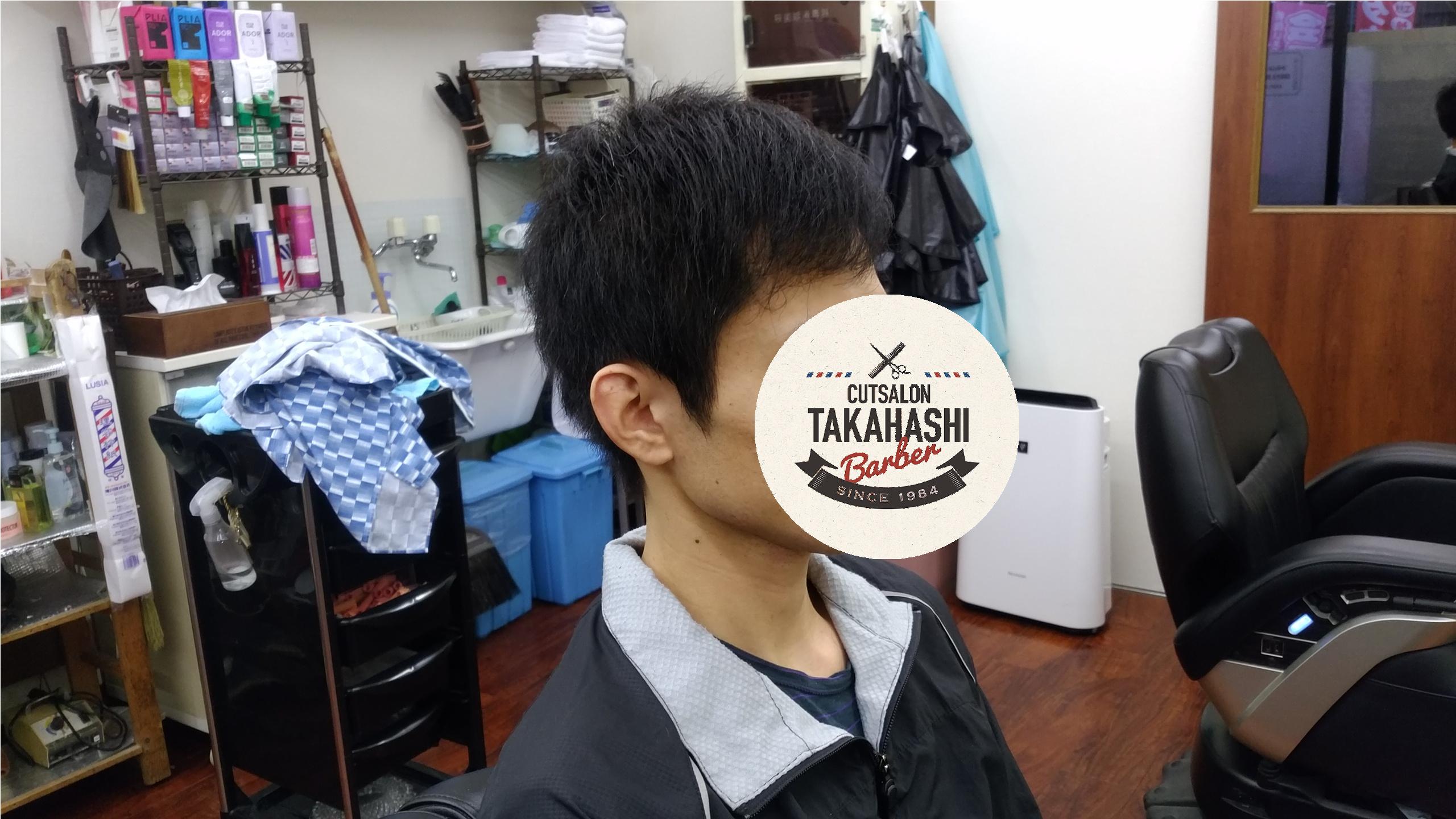 綾瀬駅メンズサロン・メンズビジネスショートスタイル