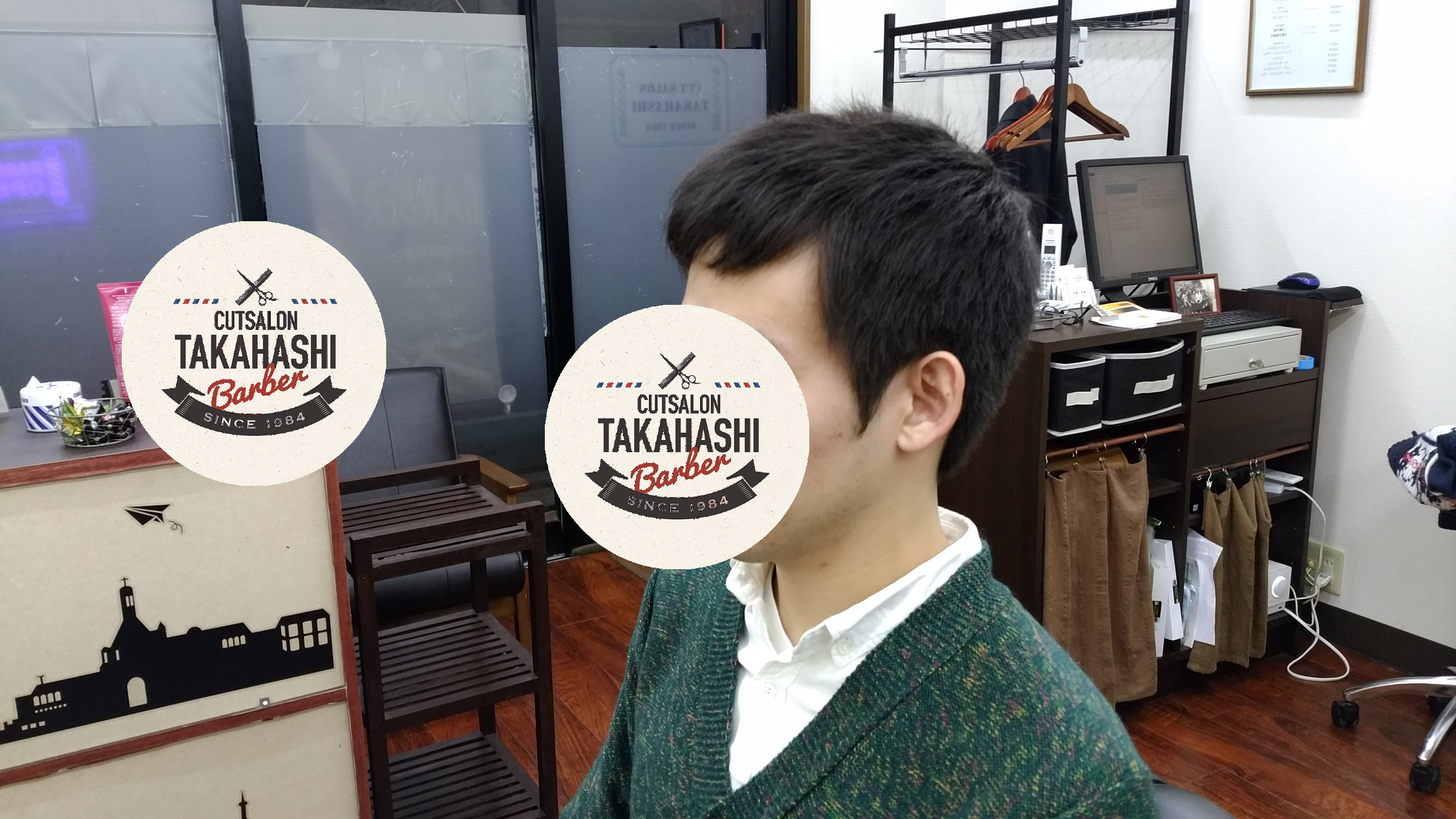 綾瀬駅理容室メンズビジネスショートスタイル!
