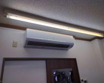 綾瀬駅理容室がエアコンを新しくしました!!