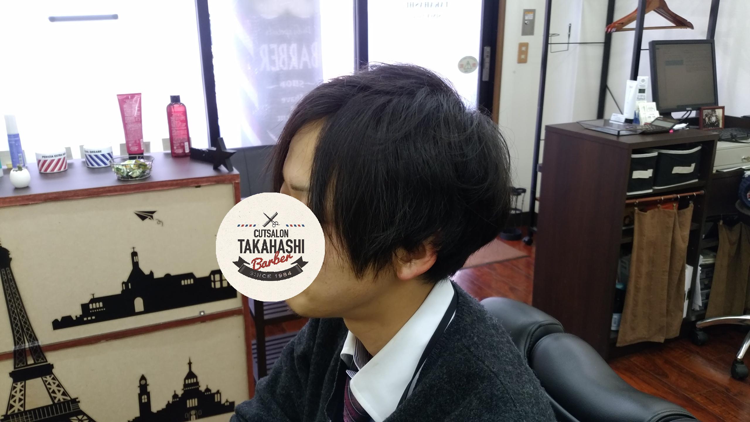 綾瀬駅理容室・メンズショートボブスタイル!