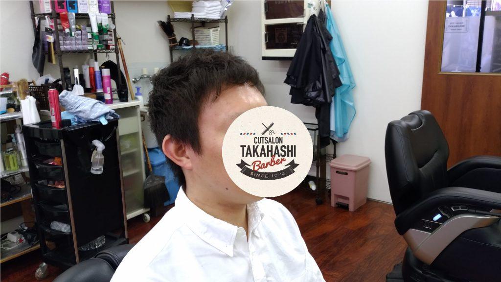 綾瀬駅理容室・メンズビジネスショートヘアー!