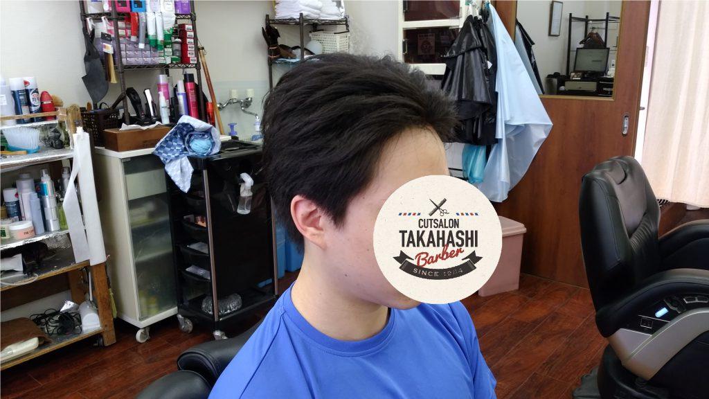 綾瀬駅理容室・メンズカットリバーススタイル!